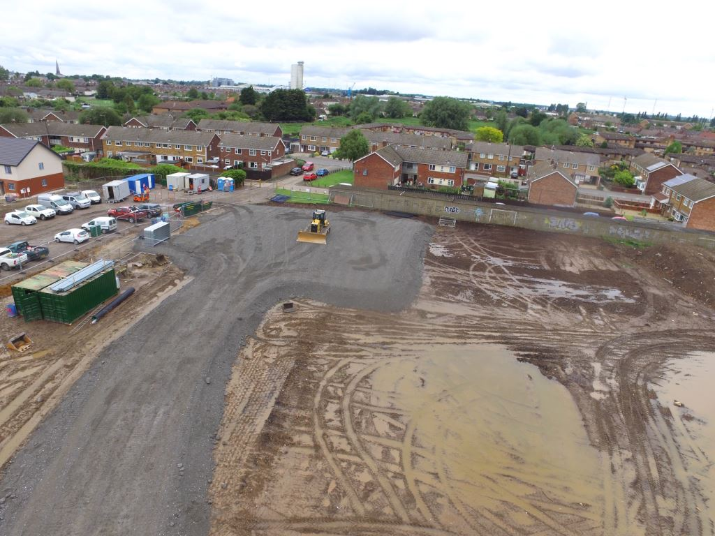 Green Park Academy Site Aerial View 2 (3)