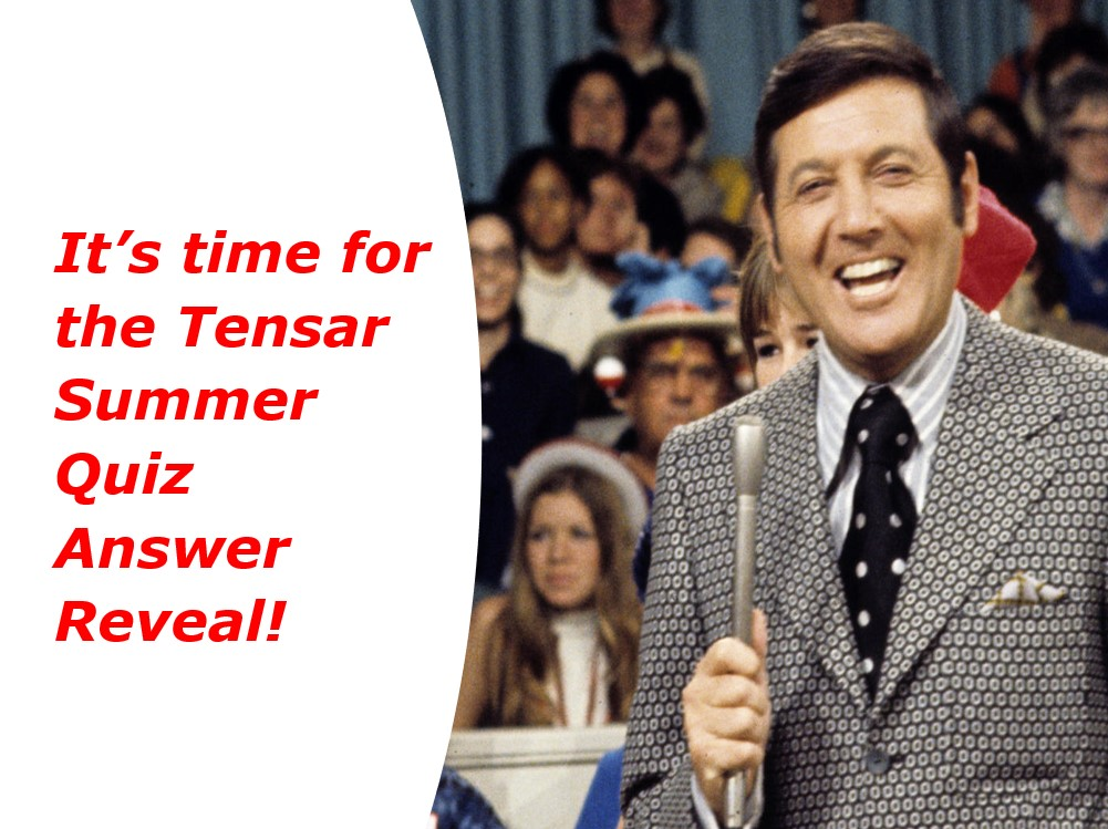 Tensar Summer Quiz - Answers Revealed!